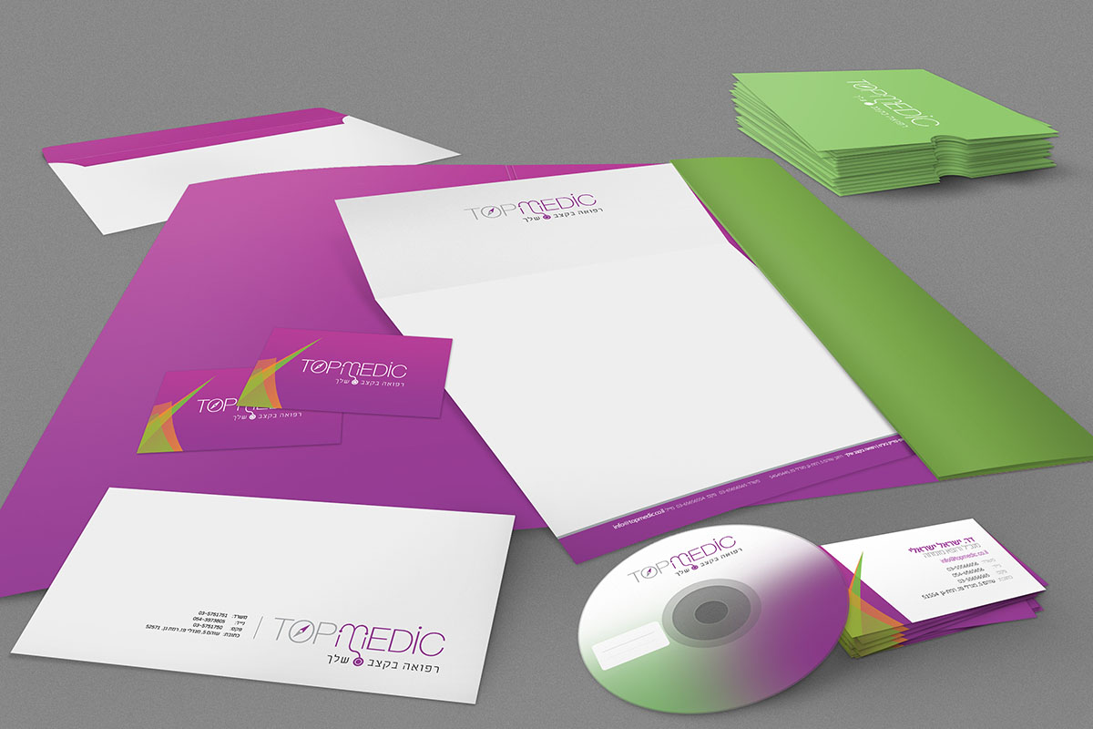 Branding Identity Mock Up Purple 07